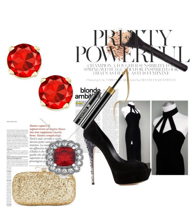 """Untitled #19"" by mina160 on Polyvore featuring beauty, INC International Concepts, Casadei and Allurez"