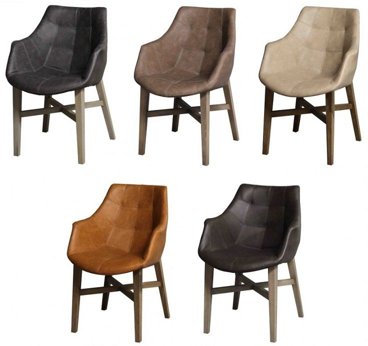 1000 images about eettafel stoelen on pinterest de for Eettafel stoelen cognac