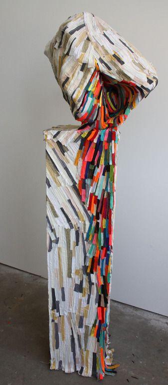 """Saatchi Online Artist: Andrea Myers; Mixed Media, 2012, Sculpture """"Prism Precipice"""""""