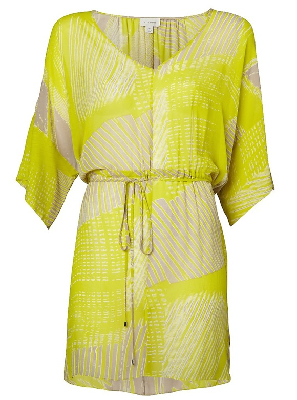 This Witchery yellow dress can take you from the beach, to the shops, to lunch with the girls.