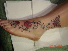 ladybug tattoo designs foot - Google Search