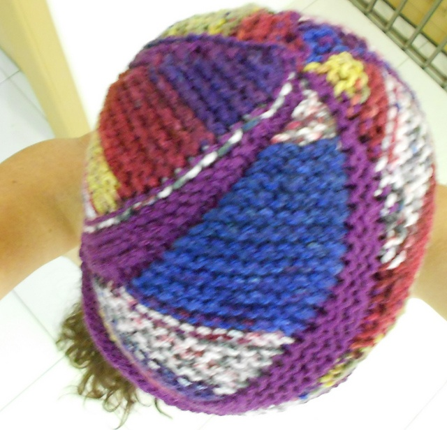 Ravelry: knitsabout's Diagonal and Sideways hat