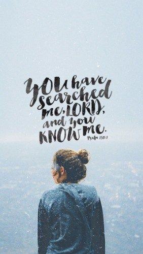 You have searched me, Lord, and you know me. Ps 139:1 (NKJV)  The author of this Psalm had been accused of idolatry. He wrote this Psalm in defence and response to the allegations against him, knowing in his heart that he was innocent. He was being falsely accused.  Have you ever experienced that? Or maybe, you've been the one pointing the finger? I've been in both spots...  KEEP READING → http://www.pktfuel.com/known-and-loved/