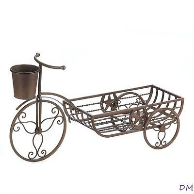 Western Lonestar Plantador en manillar de bicicleta de Herradura &, soporte de la planta