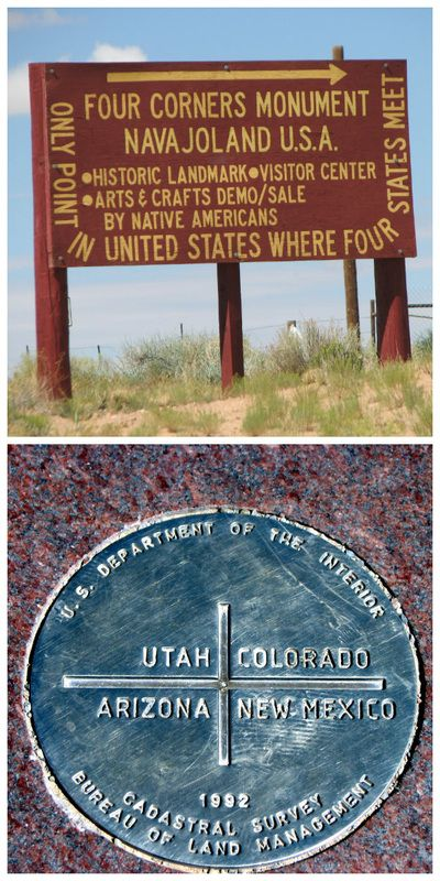 Four Corners Monument - Southwest Road Trip