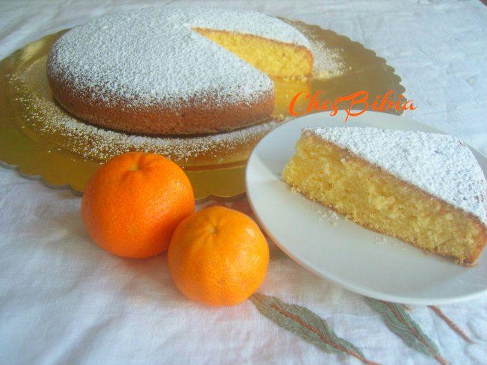 Ricetta semplice della torta al mandarino