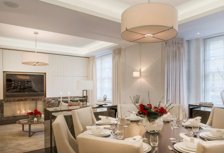 Base Interiors commissioned luxury bespoke furnishings from Luisa Peixoto, Tigermoth chandeliers and high quality silks and satins