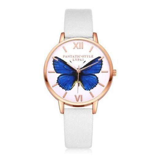 montre blanche cadeau femme