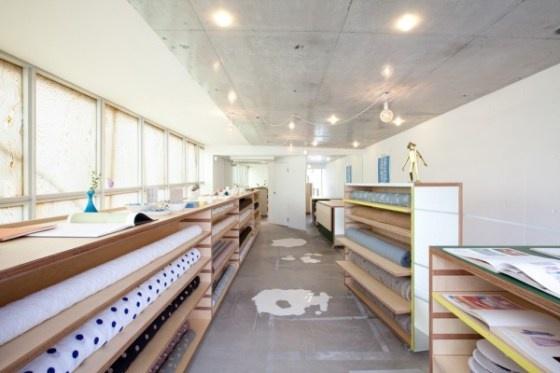 Minä Perhonen Shop in Tokyo by Torafu Architects. www.torafu.com/
