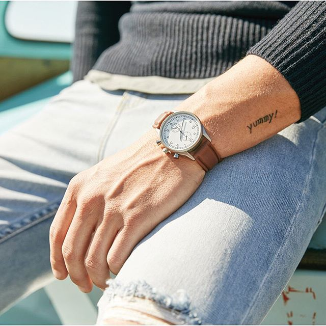 Right on time - a casual men's watch. theguideonline.com.au