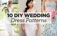 10 DIY Wedding Dress Patterns   Top Crochet Pattern Blog
