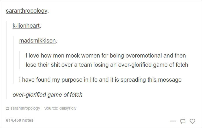 10+ Funny Tumblr Posts That Feminists Will Laugh At