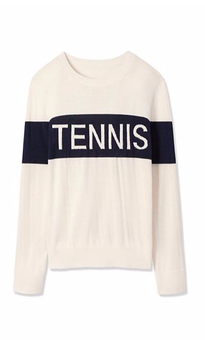 Tory Sport Performance Cashmere Tennis Sweater