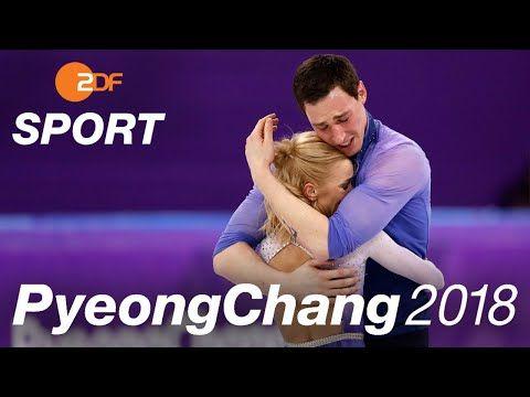 """Savchenko gerührt: """"Heute schreiben wir Geschichte""""   Eiskunstlauf   Olympia PyeongChang 2018 - ZDF - YouTube"""