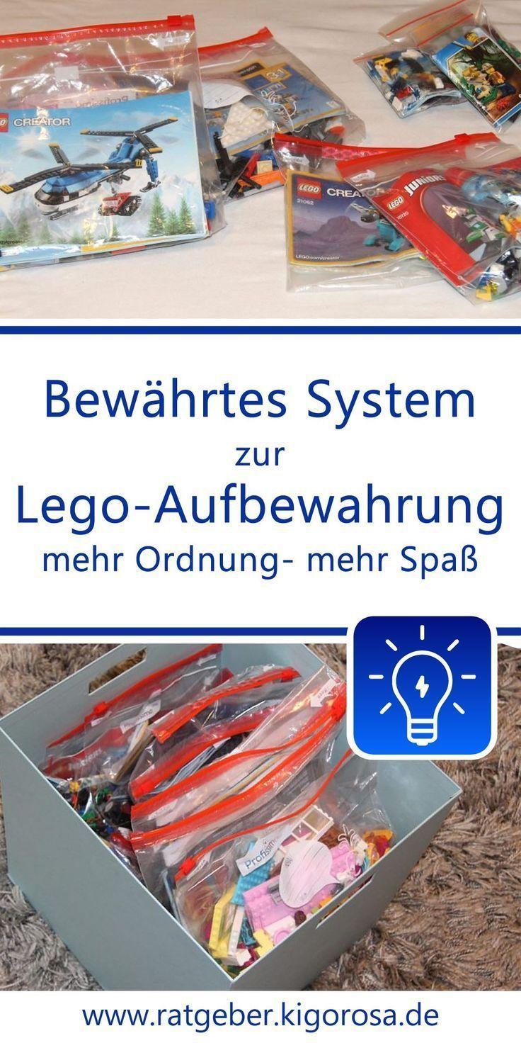 Ordnung im Kinderzimmer: Praktische Aufbewahrung von Lego