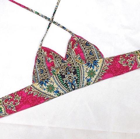Pink Dahlia Bralet
