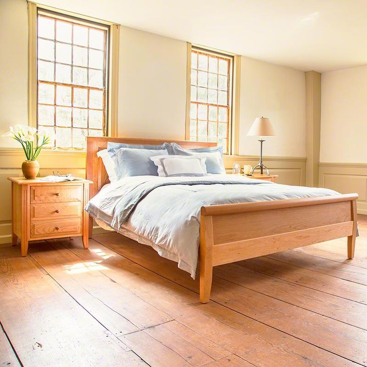 Traditional Raised Panel Carriage Bed  Handcrafted in Cherry, Maple & Oak  from Vermont Woods · Solid Wood Bedroom FurnitureShaker ...