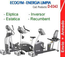 Eco Combo Estatica - Recumbent - Eliptica D-0343 Green System EcoPower