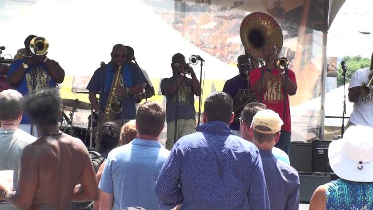 """Southern Komfort Brass Band """"Give It To Me"""",  Chicago 6/11/16"""