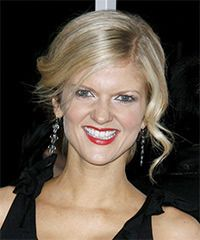 Arden Myrin Hairstyle: Formal Updo Long Curly Hairstyle
