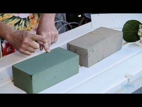 ▶ Flowers and Floristry Tutorial: How to Use Floral Foam - YouTube