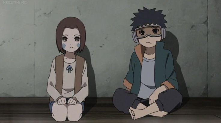 Obito Uchiha e Rin Nohara