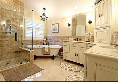 Lichtenfels Master bathroom remodel in Gainesville VA by RaMcom LLC, a kitchen and bathroom remodeling company.