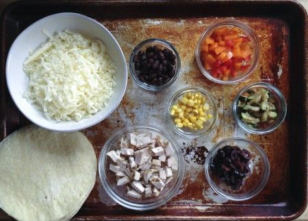 Make Your Own Quesadilla Bar / Parents Need to Eat Too