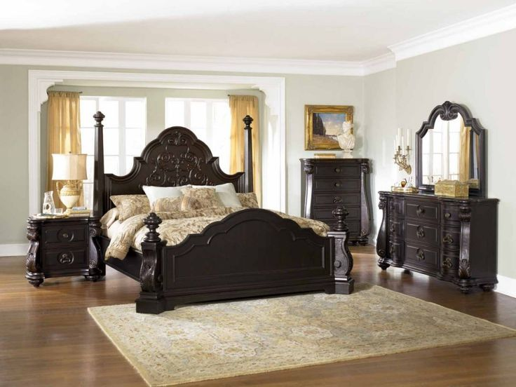 King Size Bedroom Sets Canopy 53 best king bedroom sets images on pinterest | bedroom ideas