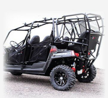 Polaris Rzr4 6 Seat Conversion Kit Room For All The Boys