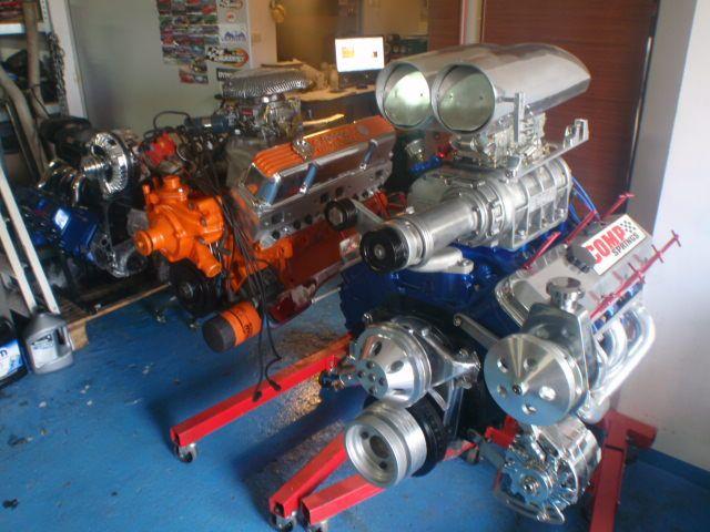 Engines BBC 7.4 and Mopar 400  build by hps.tienda