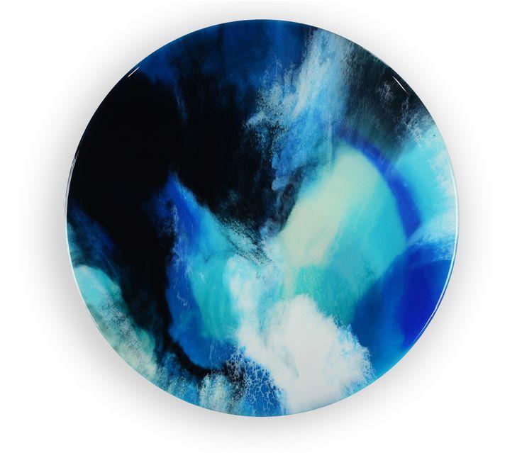 50cm circle resin artwork Abstract art Resin art