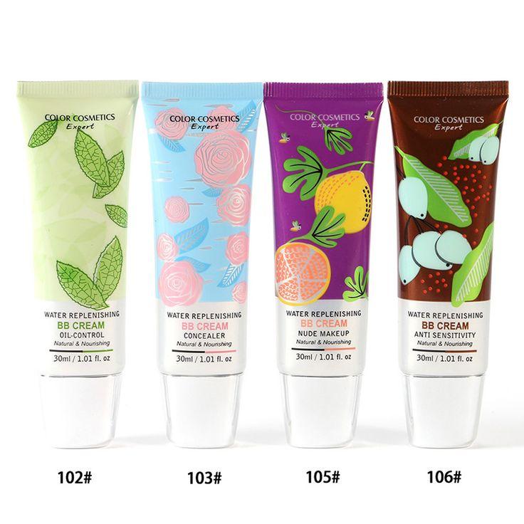 30 ml Natuurlijke BB Cream Naakt Make Foundation Concealer Huid Crème voor Gezicht Voedende Moisturizer Maken Base LY8