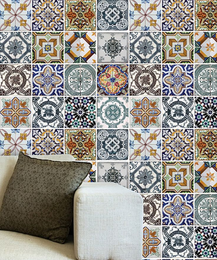 Take a look at this Mediterranean Tiles Wall Decal today!