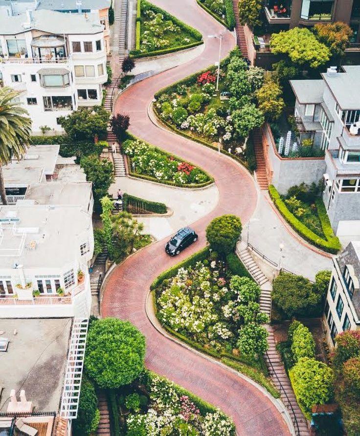 Lombard St San Francisco CA by sbdunkscarl