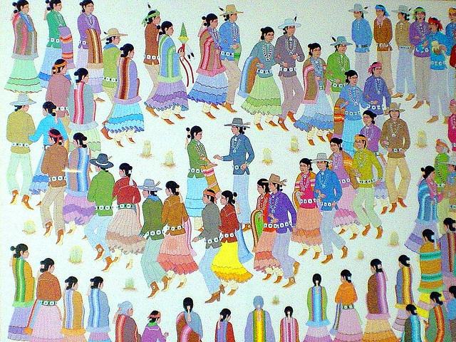 Dineh (Navajo) Tribal Song & Dance, via Flickr.