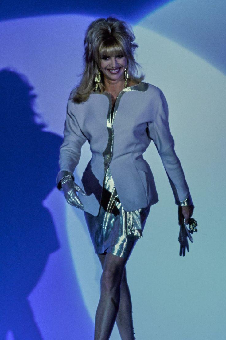Mugler Spring 1992 Ready-to-Wear Fashion Show - Ivana Trump