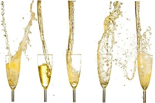 "Champagne Toast Alternative - Have the emcee say, ""Raise your glasses and and toast the new bride and groom!""  Instead of pouring a case of champagne, have people toast with what they're already drinking. This works great with an open bar."