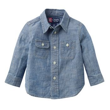 Chaps Chambray Shirt - Baby