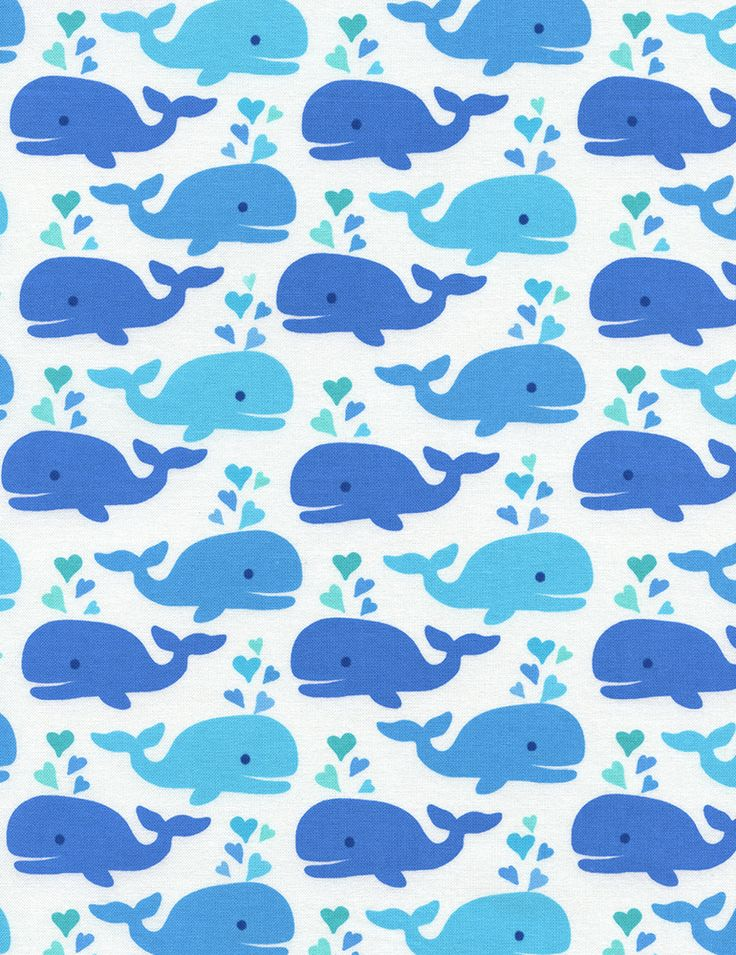 » Cute Whales Timeless Treasures