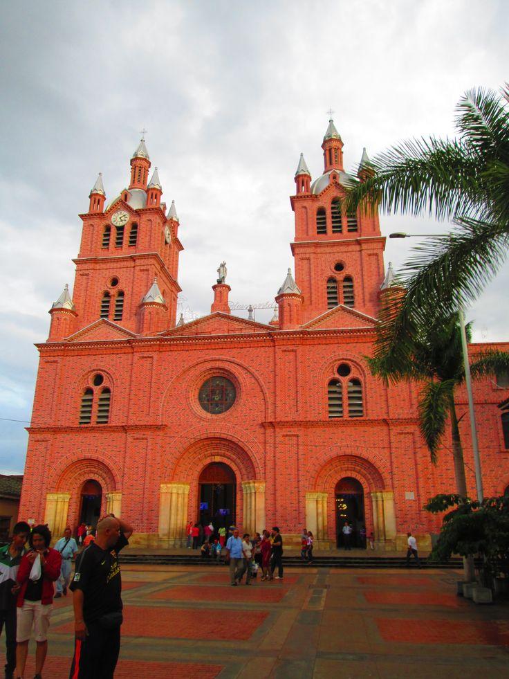 Basílica del Señor de los Milagros en Guadalajara de Buga, Valle del Cauca, Colombia.