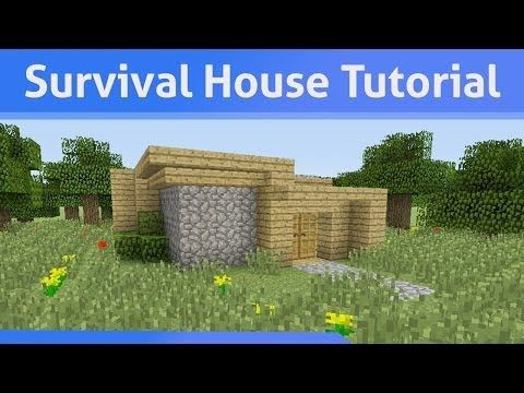 Small Survival House Tutorial Minecraft Xbox 360/PS3 - YouTube http://minecraftcrunch.com/