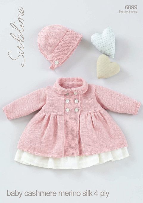 281 best images about Baby & Little Girl Knitting Patterns and Ideas on P...