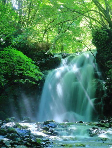 lifeisverybeautiful:  Asama Otaki falls, Gunma, Japan via GANREF 清涼の滝