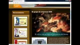 pagiana web sobre los productos del ganoderma