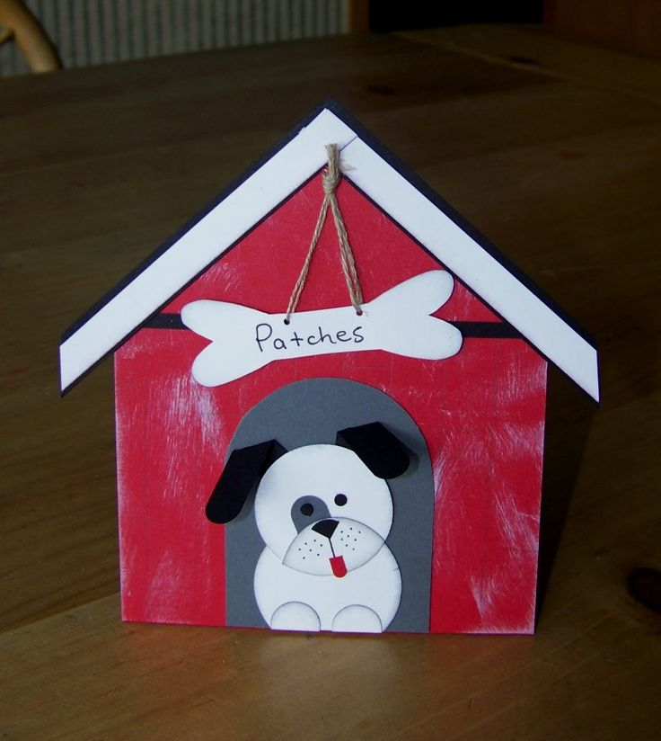 Cute card for kids or someone in the dog house with spouse.