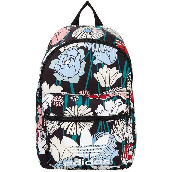 Adidas Originals Classic Backpack (46000 IQD) ❤ liked on Polyvore featuring bags, backpacks, rucksack bag, day pack backpack, adidas originals backpack, polyester backpack and backpack bags