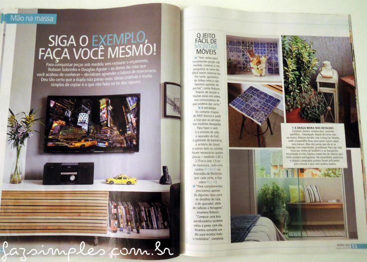 Revista Minha casa Ed. Janeiro/2016
