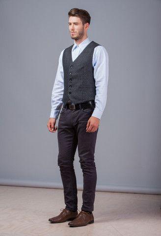 Wool Tweed Vest – GEHRICH