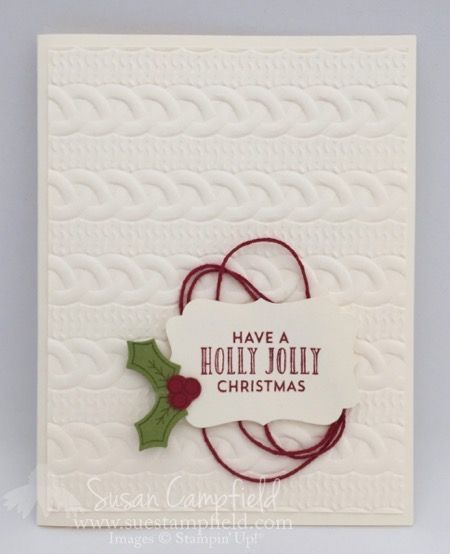 Holly Berry Cable Knit Christmas - 2